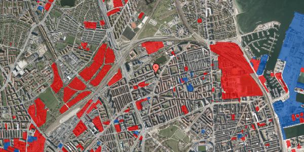 Jordforureningskort på Vognmandsmarken 34, st. tv, 2100 København Ø