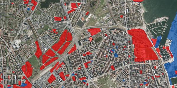 Jordforureningskort på Vognmandsmarken 35, 3. th, 2100 København Ø