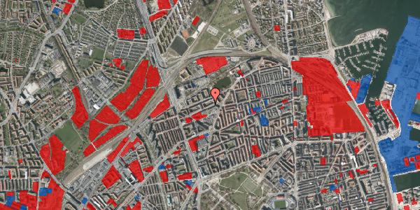 Jordforureningskort på Vognmandsmarken 36, st. tv, 2100 København Ø