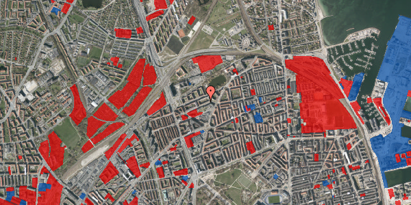Jordforureningskort på Vognmandsmarken 36, 2. th, 2100 København Ø