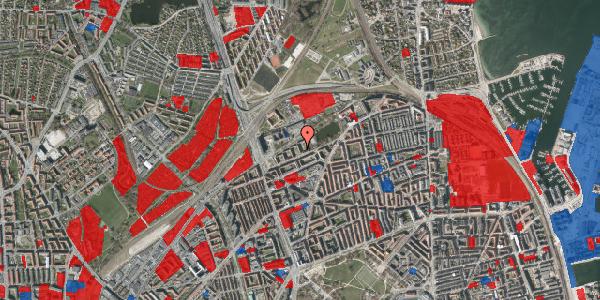 Jordforureningskort på Vognmandsmarken 39, st. tv, 2100 København Ø