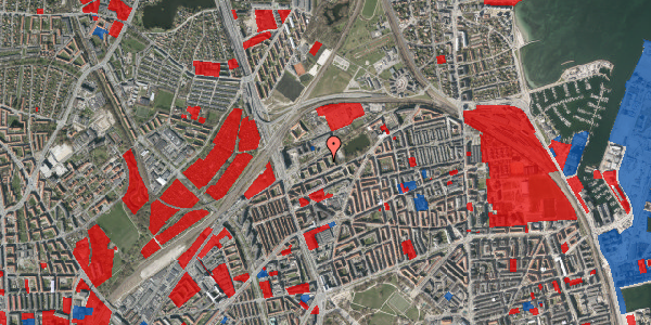 Jordforureningskort på Vognmandsmarken 41, 1. th, 2100 København Ø