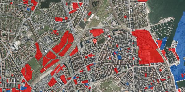 Jordforureningskort på Vognmandsmarken 41, 3. th, 2100 København Ø