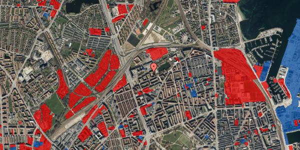 Jordforureningskort på Vognmandsmarken 41, 4. th, 2100 København Ø