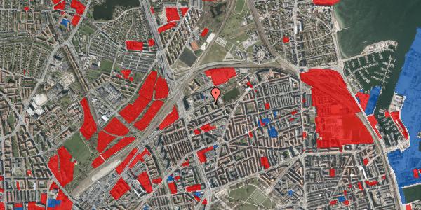 Jordforureningskort på Vognmandsmarken 43, st. , 2100 København Ø