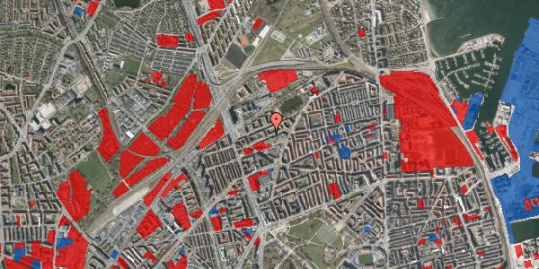 Jordforureningskort på Vognmandsmarken 44, 4. th, 2100 København Ø