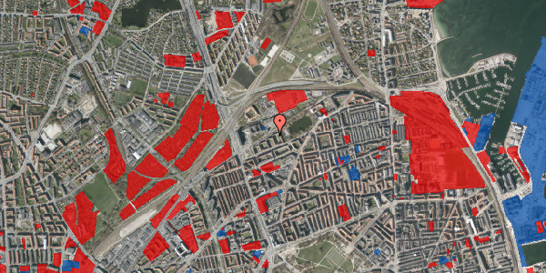 Jordforureningskort på Vognmandsmarken 45, 1. th, 2100 København Ø