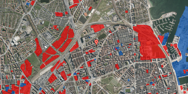 Jordforureningskort på Vognmandsmarken 46, st. th, 2100 København Ø
