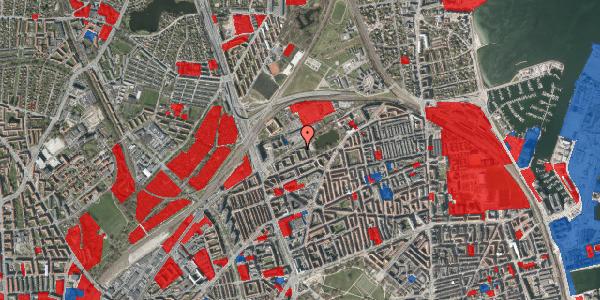 Jordforureningskort på Vognmandsmarken 47, 1. th, 2100 København Ø
