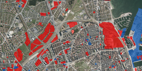 Jordforureningskort på Vognmandsmarken 49, 2. th, 2100 København Ø