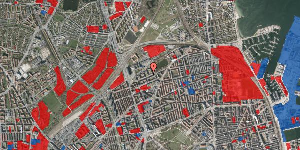 Jordforureningskort på Vognmandsmarken 53, 4. th, 2100 København Ø