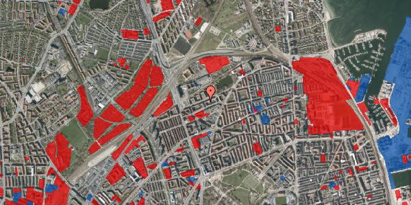 Jordforureningskort på Vognmandsmarken 54, 1. th, 2100 København Ø