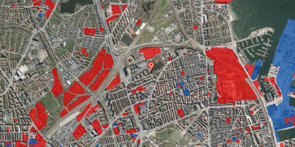Jordforureningskort på Vognmandsmarken 57, 3. th, 2100 København Ø