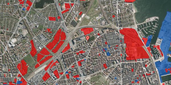 Jordforureningskort på Vognmandsmarken 59, 3. th, 2100 København Ø
