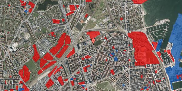 Jordforureningskort på Vognmandsmarken 65, 1. th, 2100 København Ø