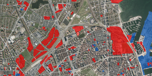Jordforureningskort på Vognmandsmarken 65, 2. tv, 2100 København Ø
