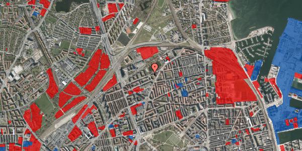 Jordforureningskort på Vognmandsmarken 74, 3. th, 2100 København Ø