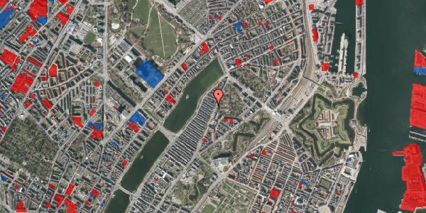 Jordforureningskort på Voldmestergade 4, 2100 København Ø
