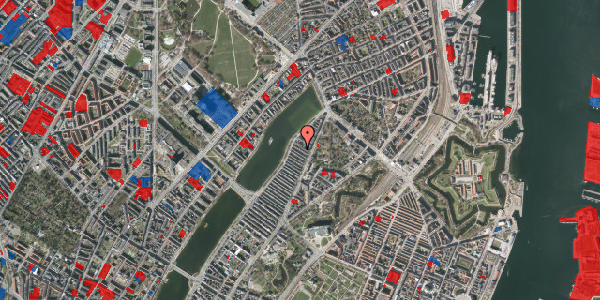 Jordforureningskort på Voldmestergade 22, 2100 København Ø