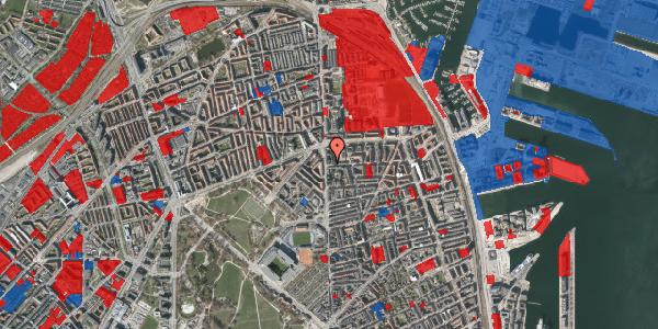 Jordforureningskort på Vordingborggade 1, 3. , 2100 København Ø