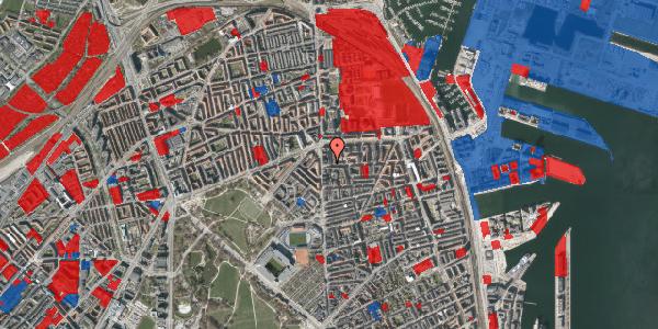 Jordforureningskort på Vordingborggade 3, 3. th, 2100 København Ø
