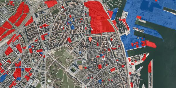 Jordforureningskort på Vordingborggade 4A, 1. , 2100 København Ø
