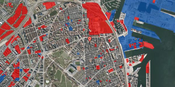 Jordforureningskort på Vordingborggade 5, 1. th, 2100 København Ø