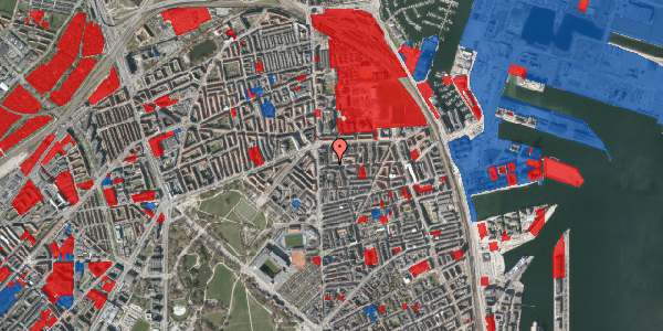 Jordforureningskort på Vordingborggade 5, 2. tv, 2100 København Ø