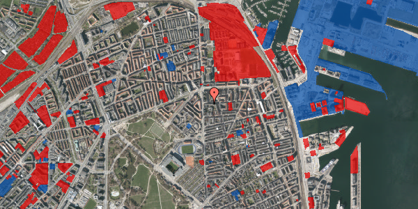 Jordforureningskort på Vordingborggade 6A, 3. 32, 2100 København Ø