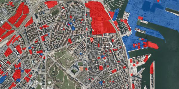 Jordforureningskort på Vordingborggade 6A, 5. 52, 2100 København Ø