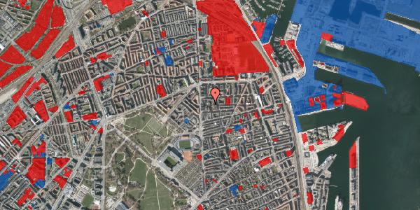 Jordforureningskort på Vordingborggade 6D, 1. 12, 2100 København Ø