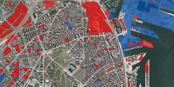 Jordforureningskort på Vordingborggade 6E, st. 1, 2100 København Ø