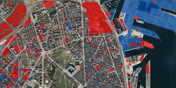 Jordforureningskort på Vordingborggade 6F, 2. 21, 2100 København Ø