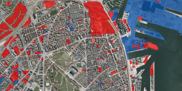 Jordforureningskort på Vordingborggade 6G, st. 1, 2100 København Ø