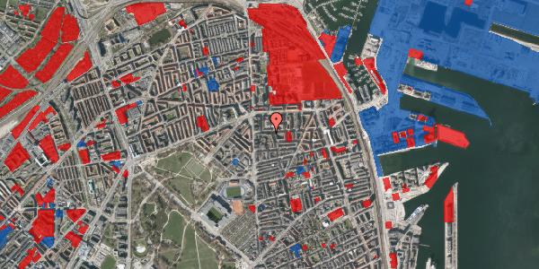 Jordforureningskort på Vordingborggade 6G, 1. 13, 2100 København Ø
