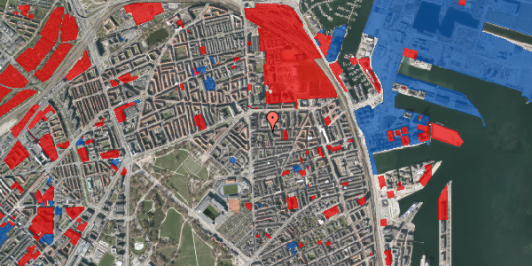 Jordforureningskort på Vordingborggade 6G, 6. 61, 2100 København Ø