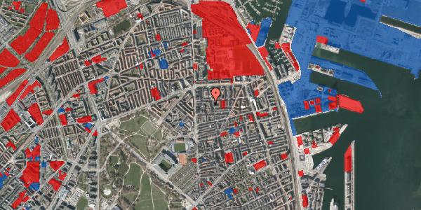 Jordforureningskort på Vordingborggade 6J, st. 2, 2100 København Ø