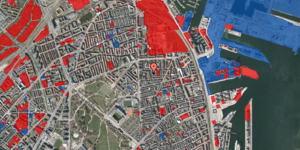Jordforureningskort på Vordingborggade 6K, st. 1, 2100 København Ø