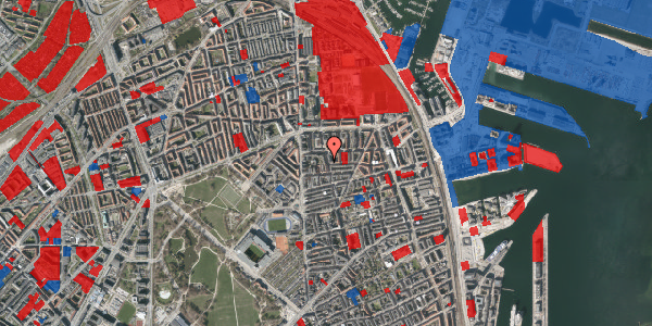 Jordforureningskort på Vordingborggade 6K, 2. 21, 2100 København Ø
