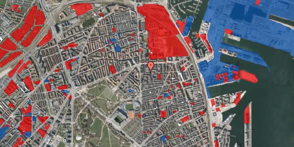Jordforureningskort på Vordingborggade 7, st. tv, 2100 København Ø