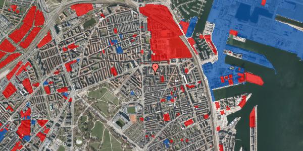 Jordforureningskort på Vordingborggade 11, 2. th, 2100 København Ø