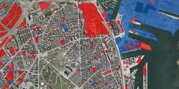 Jordforureningskort på Vordingborggade 19, 1. th, 2100 København Ø