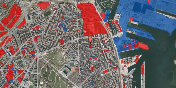 Jordforureningskort på Vordingborggade 19, 4. tv, 2100 København Ø