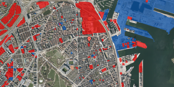 Jordforureningskort på Vordingborggade 24, 2. th, 2100 København Ø