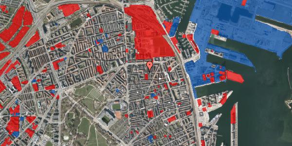 Jordforureningskort på Vordingborggade 25, 4. tv, 2100 København Ø