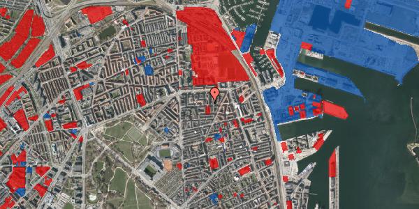 Jordforureningskort på Vordingborggade 27, 3. th, 2100 København Ø