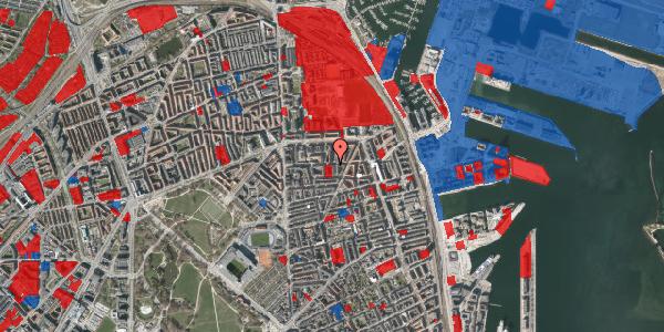 Jordforureningskort på Vordingborggade 30, 1. th, 2100 København Ø