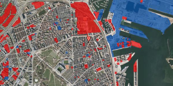 Jordforureningskort på Vordingborggade 32, 4. th, 2100 København Ø