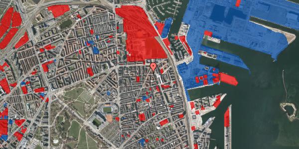 Jordforureningskort på Vordingborggade 35, 5. , 2100 København Ø