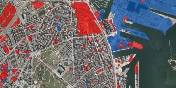 Jordforureningskort på Vordingborggade 36, 2. th, 2100 København Ø